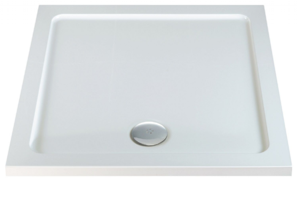 DuoStone - Low Profile Square shower Tray